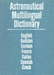 Astronautical multilingual dictionary